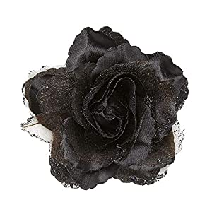 WIDMANN?Pinza Pelo con purpurina Womens, Negro, talla única, vd-wdm04122