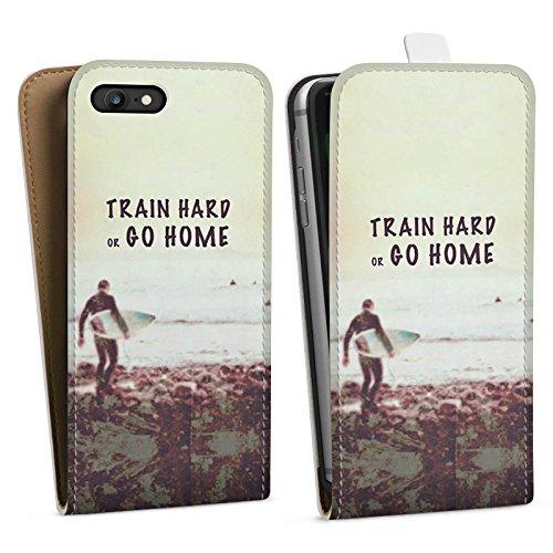 Apple iPhone X Silikon Hülle Case Schutzhülle Sport Training Fitness Downflip Tasche weiß