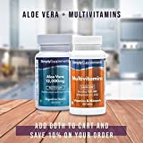 Simply Supplements Aloe Vera 12,000mg   180 Tablets   May help soothe the digestive system by Simply Supplements