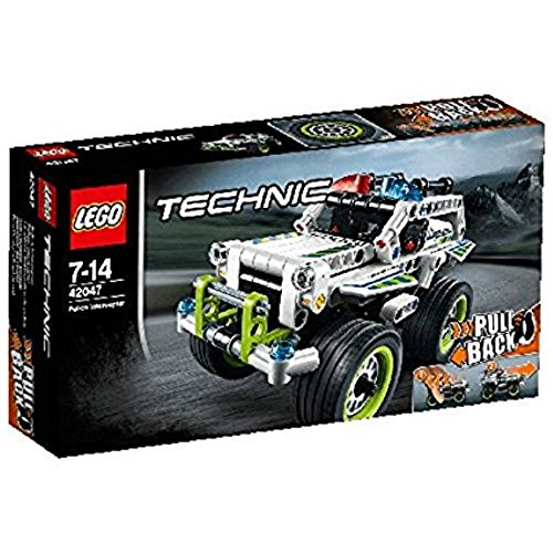 Lego 42047 - Technic - Jeu de construction - La Voiture d'intervention de Police