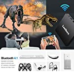Android 8.1 TV Box【4G+64G】- Leelbox Smart TV Box Q4 MAX, Quad Core 64 Bit Android Box Wi-Fi integrato/BT 4.1/ Box TV UHD 4K TV/USB 3.0 Media Player, Android Set-top-Box