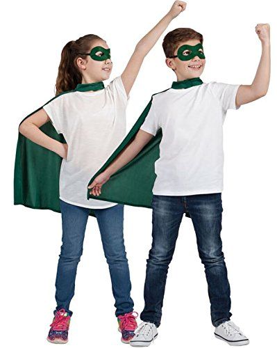 ero Cape & Mask Fancy Dress Costume (Super Hero Kostüm Ideen)
