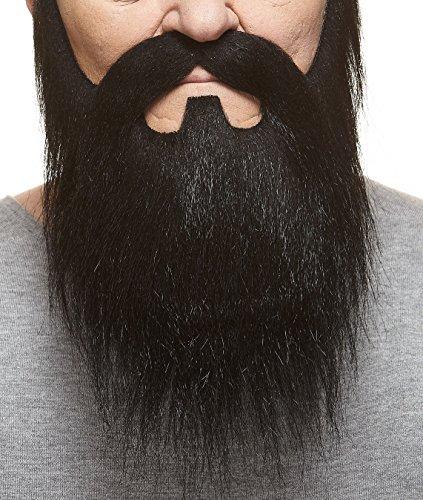 (Mustaches Schwarzer fälschen, selbstklebend Bart und Schnurrbart eines Lords)