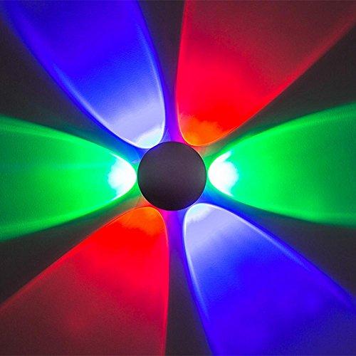 OOFAY LIGHT® LED-Aluminiumwandlampe, die RGB-Farbe mit modernen Art-Wand-Lampen für KTV-Bar dekorativ beleuchtet
