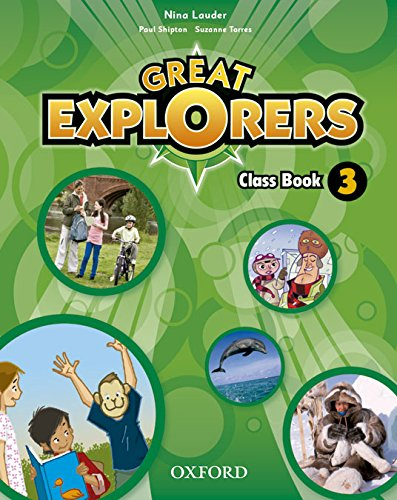 (14).GREAT EXPLORERS 3º.PRIM.(CLASS BOOK)