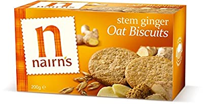 Nairns Stem Ginger Wheat Free Biscuit 200g - CLF-NAI-9367 by Nairns