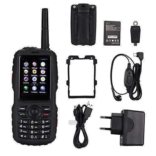 Universelles Walkie-Talkie-Handfunkgerät, mit GPS, kapazitivem Touchscreen, Wasserdichten Lautsprechern, mit Kamera, Unterstützung für APP-Gegensprechanlage, Absturzsicherung, Staubschutz (Walkie-talkie-app)