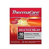 ThermaCare - Fasce autoriscaldanti terapeutiche per lenire il dolorea collo, spalle e polsi, 3 fasce