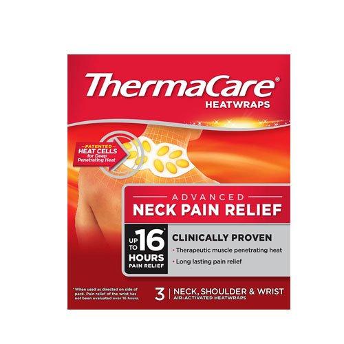ThermaCare therapeutische Wärme-Packungen / -Wickel zur Schmerzlinderung-Nacken, Schulter und Handgelenk - 3Wickel