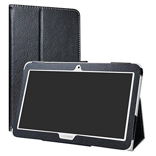 LiuShan Archos Access 101 3G hülle, Folding PU Leder Tasche Hülle Case mit Ständer für 10.1