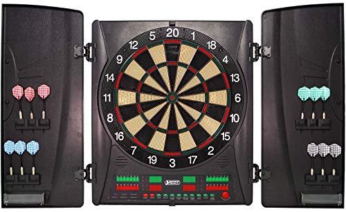 Best Sporting elektronische Dartscheibe Wembley, Turnier-Dartboard LED mit Netzadapter und Ersatz-Dartpfeilen