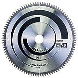 Bosch Professional Kreissägeblatt Multi Material (für Spanplatten, Faserwerkstoffe, Kunststoffe und Nichteisenmetalle)
