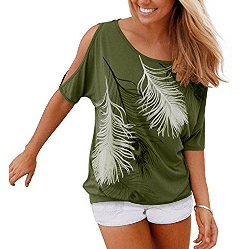 Juleya Plus size Camisa mujer Camiseta manga corta mujeres Blusas Casual Sling Tops Camisas de estampado floral Top suelto Trabajo Casual