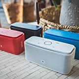 DOSS SoundBox- Touch Kabellose Portabler Bluetooth Lautsprecher mit unglaublicher 12-Stunden Spielzeit & Sensitive-Touch Wireless 12W Speakers mit TF Karte Funktion und Reinem Bass - 6