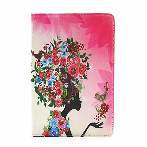 Charles Fairy Luxury Bling Diamond Printed Leder Case Folio Stand for iPad Mini 4 - NO.5 -