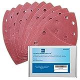40Bond–Hojas de lija para lijadora Bosch PSM 100A detalle Palma 120grano (Fine)