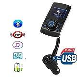 Bluetooth denn Freisprecheinrichtung Set MP3-Player FM-Transmitter KFZ-Ladegerät USB, das-Halterung Karte SD und Festplatte u 1g–32G ¡