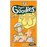 Organix Goodies Organiques Hommes Mini Pain D'Épice De 12 + Mois 5 X 25G - Lot De 2