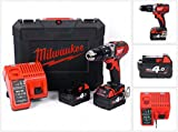 Milwaukee 4933443520–M 18bpd-402c Schlagbohrmaschine...