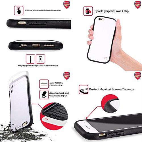 Ufficiale Arsenal FC Alex Iwobi 2017/18 Giocatori Kit Third Gruppo 1 Case Ibrida per Apple iPhone 6 Plus / 6s Plus Alexis Sánchez