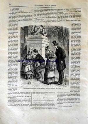 JOURNAL POUR TOUS [No 22] du 02/07/1870 - TIR AUX PIGEONS AU BOIS DE BOULOGNE