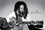 Bob Marley PP33639 ((Redemption Song) Maxi Poster, Bois Dense, Multicolore, 61 x 91,5 cm