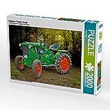 CALVENDO 4059478938359 Oldtimer Traktor Deutz Foto-Puzzle Bild von Roder Peter, 2000 Teile, Weiß, Lege-Größe 90 x 67 cm