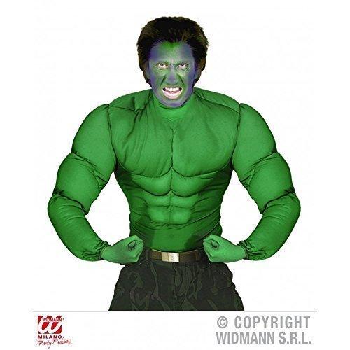 es Super - Muskelshirt Kostüm für Herren Gr. XL = 54 (Muskel T Shirt Kostüme)