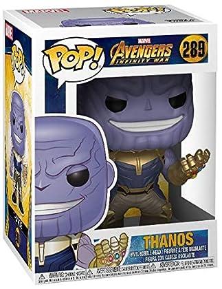 Pop! Marvel: Avengers Infinity War- Thanos Bobblehead Figure