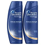 Head and Shoulders Clinical Strength Dandruff and Seborrheic Dermatitis Shampoo Twin Pack, 13.5 Fl Oz (Pack of 2)