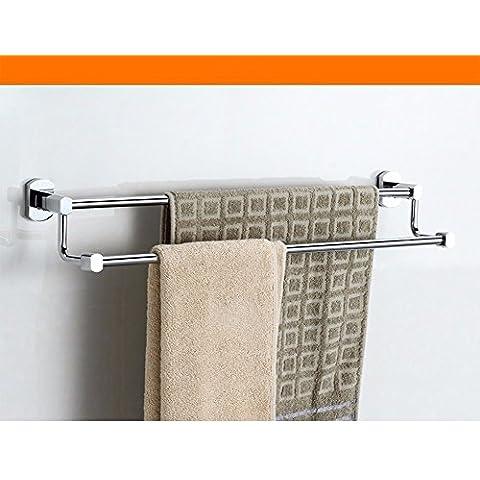 KHSKXAccesorios de baño doble bronce Toallero toallero doble accesorios de baño