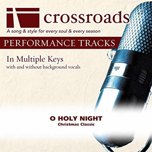 O Holy Night (Performance Track without Background Vocals in Bb)