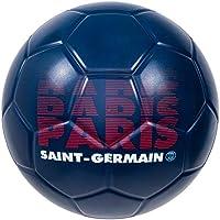 PARIS SAINT GERMAIN Ballon PSG - Collection officielle Taille 4 - Football Supporter - Ligue 1 - Couleur bleu - Mousse résistante