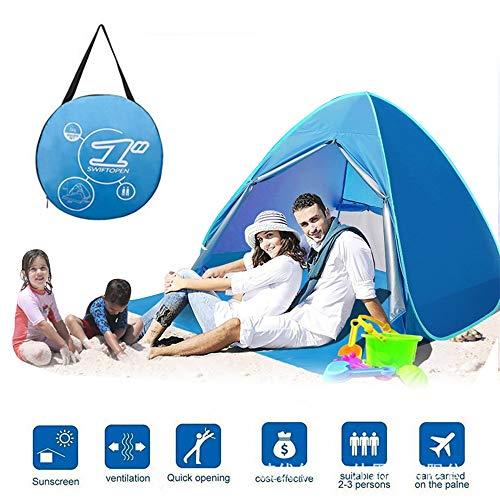 CX TECH Campingzelt Portable Pop Up Zelte Im Freien Wasserdichte Faltbare Sun Shelter Strand Garten Camping Angeln Picknick Kinder Spielen Garten