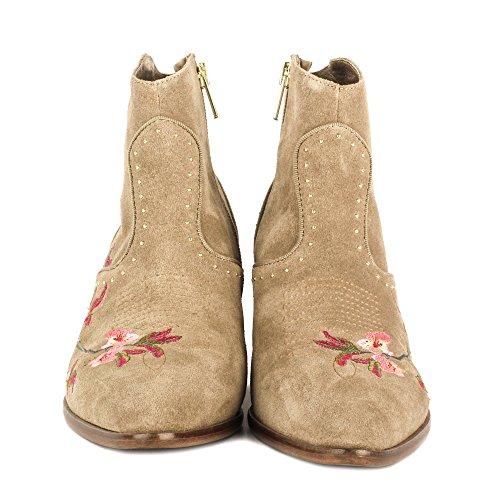 Ash Schuhe Heidi Boots aus Wildleder Damen Cocco