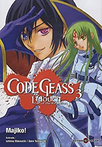 Code Geass - Lelouch of the Rebellion Edition simple Tome 3