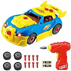 Think Gizmos TG642 Take Apart Racing - Juego de construcción para niños (versión 3)