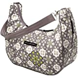 Petunia Pickle Bottom Touring Tote - Bolsa de maternidad, diseño Glazed Misted Marseille