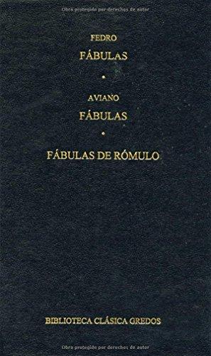 Fabulas Fabulas De Romulo B Clasica Gredos Pdf Online Paulxenon