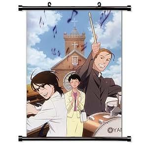 Kids sur la pente (Sakamichi no Apollon) Anime tissu Poster 16 x 23 pouces)-WP -Kids - 6)