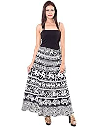 Amber Women's Skirt (PMSWRP07__Multi Color_Free Size)