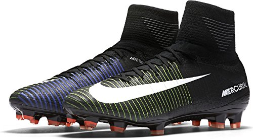 Nike 831940-013, Chaussures de Football Homme Noir