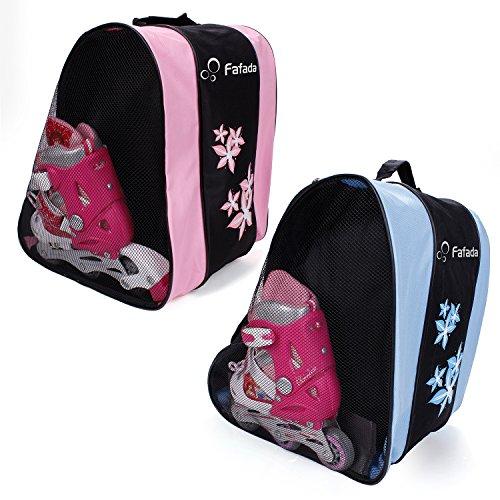 Fafada Tasche für Skateschuhe Schlittschuhe Rollschuhe Eislauf Bag Hülle 35 x 30 x 39 cm