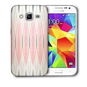 Snoogg Abstract Wall Design Printed Protective Phone Back Case Cover For Samsung Galaxy CORE PRIME