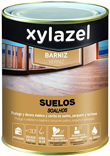 Xylazel M128694 - Barniz agua suelo 750 ml satin