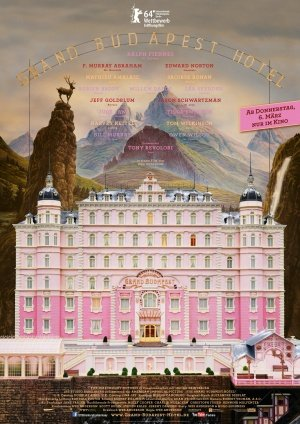 THE GRAND BUDAPEST HOTEL – German Imported Movie Wall Poster Print – 30CM X 43CM Brand New