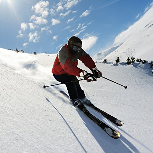 Apple iPhone 6 Housse Étui Silicone Coque Protection Ski Neige Soleil Étui en cuir marron