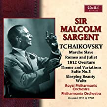 Sir Malcolm Sargent conducts Tchaikovsky [rec 1955 and 1960] by Royal Philharmonic Orchestra (1960)