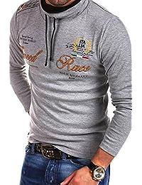 MT Styles T-shirt à manches longues SPEED Polo col châle R-7191