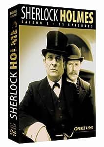 Sherlock Holmes : Saison 2 - 11 épisodes - Coffret 4 DVD